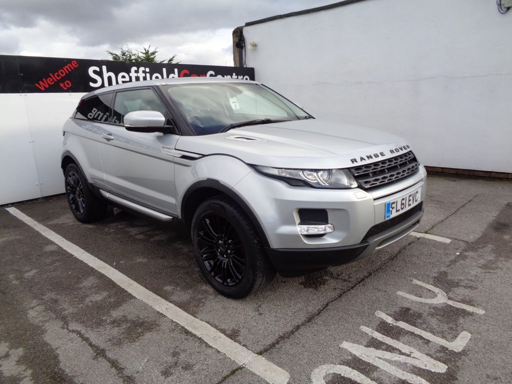 """USED 2011 61 LAND ROVER RANGE ROVER EVOQUE 2.2 SD4 PRESTIGE 3d 190 BHP 4x4 4wd awd Satellite navigation  bluetooth   nine service stamps   full leather   climate control   19"""" alloys"""