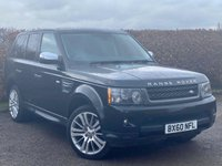 USED 2011 60 LAND ROVER RANGE ROVER SPORT 3.0 TDV6 HSE 5d AUTOMATIC * FULL HEATED LEATHER INTERIOR * AUTOMATIC *