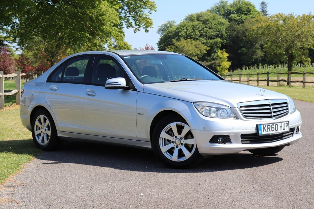 USED 2011 60 MERCEDES-BENZ C-CLASS 1.8 C180 CGI BLUEEFFICIENCY SE 4d 156 BHP Recently Serviced + Long Mot