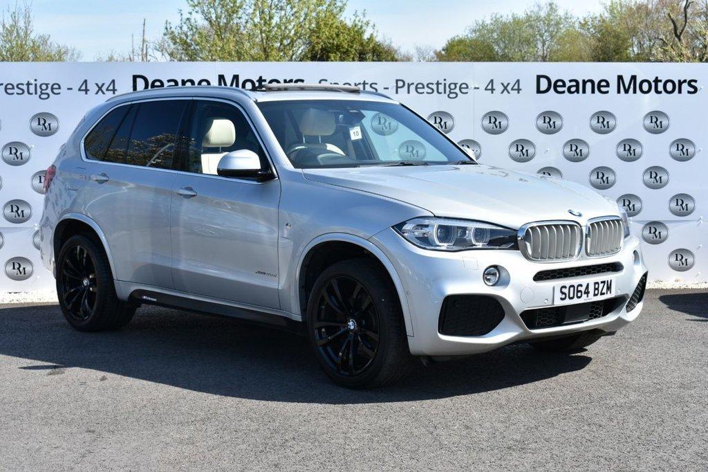 USED 2015 64 BMW X5 3.0 XDRIVE40D M SPORT 5d 309 BHP PANROOF HUGE SPEC