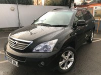 USED 2009 09 LEXUS RX 3.3 400H LIMITED EDITION EXECUTIVE 5d 208 BHP ONE OWNER, FULL LEXUS HISTORY
