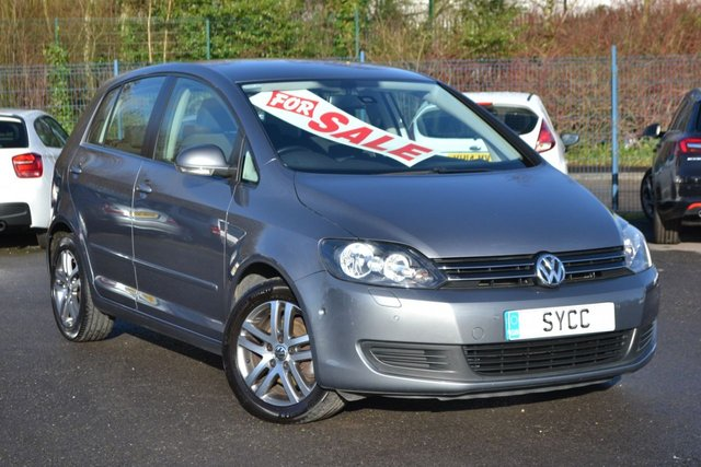 USED 2010 60 VOLKSWAGEN GOLF PLUS 1.6 SE TDI 5d 103 BHP SELF PARK ~ FRONT AND REAR PARK SENSORS ~ CRUISE ~ 2 KEYS