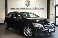 """USED 2014 64 MERCEDES-BENZ A CLASS 2.1 A200 CDI AMG SPORT 5DR AUTO 136 BHP Finished in a stunning cosmos metallic black styled with 18"""" alloys. Upon opening the drivers door you are presented with half black leather interior, excellent service history, bluetooth, cruise control, multi functional steering wheel, rain sensors,attention assist, AMG styling package, ULEZ EXEMPT"""