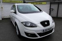 2012 SEAT ALTEA XL 1.6 CR TDI ECOMOTIVE SE 5d 103 BHP £3350.00