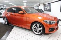 USED 2016 16 BMW 1 SERIES 116D M SPORT 114 BHP 1 FORMER NAV BT 18'S