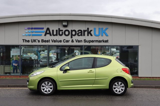 USED 2007 57 PEUGEOT 207 1.4 MPLAY 3d 73 BHP LOW DEPOSIT OR NO DEPOSIT FINANCE AVAILABLE