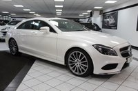 USED 2015 65 MERCEDES-BENZ CLS CLASS 3.0 CLS350 D AMG LINE PREMIUM AUTO 255 BHP 1 OWNER FMBSH SUNROOF 19'S