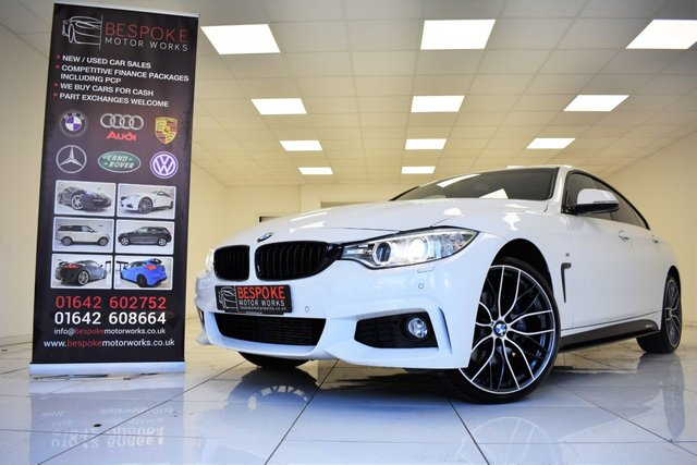 2017 17 BMW 4 SERIES 420D 2.0 XDRIVE M SPORT GRAN COUPE