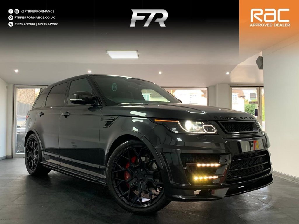 USED 2014 14 LAND ROVER RANGE ROVER SPORT 5.0 V8 AUTOBIOGRAPHY DYNAMIC 5d 510 BHP