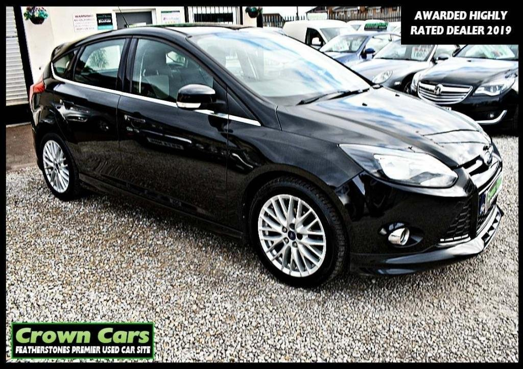 USED 2012 12 FORD FOCUS 1.6 TDCi Zetec S 5dr 3 MONTHS WARRANTY & PDI CHECKS