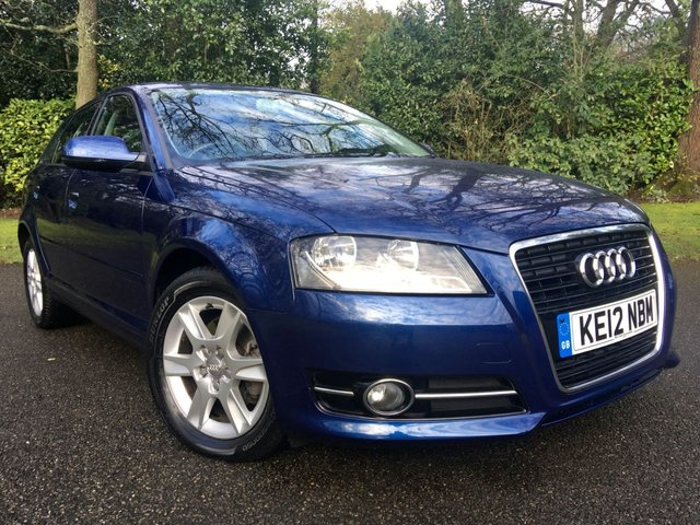 2012 12 AUDI A3 1.4 TFSI SE 5d AUTO 123 BHP SPORTRONIC/1 OWNER / ONLY 21,000 MILES