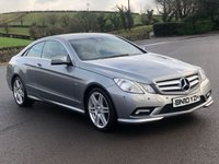 2010 MERCEDES-BENZ E CLASS 3.0 E350 CDI BLUEEFFICIENCY SPORT 2d 231 BHP £7295.00