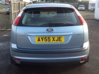 USED 2005 55 FORD FOCUS 1.6 GHIA 16V 5d AUTO 101 BHP * 79000 MILES, FULL HISTORY * 79000 MILES, FULL SERVICE HISTORY