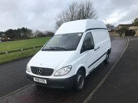 2010 MERCEDES-BENZ VITO 2.1 109 CDI LONG SWB 95 BHP NO VAT £5995.00