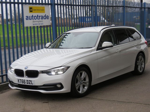 USED 2017 66 BMW 3 SERIES 2.0 320D ED SPORT TOURING 5d 161 BHP. Satellite Navigation, ULEZ COMPLIANT, Full Leather, 1 Owner BMW 320D ED SPORT ESTATE 6 SPEED MANUAL, SAT NAV, HEATED LEATHER,  ULEZ COMPLIANT