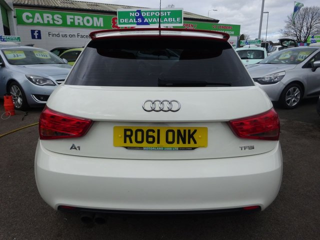 USED 2011 61 AUDI A1 1.4 TFSI COMPETITION LINE 3d 122 BHP ***JUST ARRIVED ...01543 877320***ZERO DEPOSIT AVAILABLE**