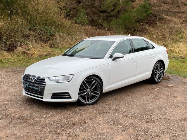 USED 2015 65 AUDI A4 2.0 TDI ULTRA SE 4d 148 BHP NEW RS4 ALLOYS S LINE LOOKS
