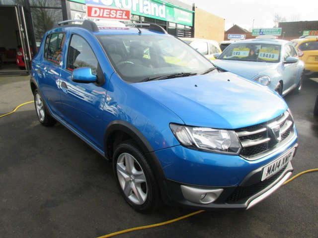 USED 2014 14 DACIA SANDERO 1.5 STEPWAY AMBIANCE DCI 5d 90 BHP ***JUST ARRIVED...TEST DRIVE TODAY***NO DEPOSIT DEALS