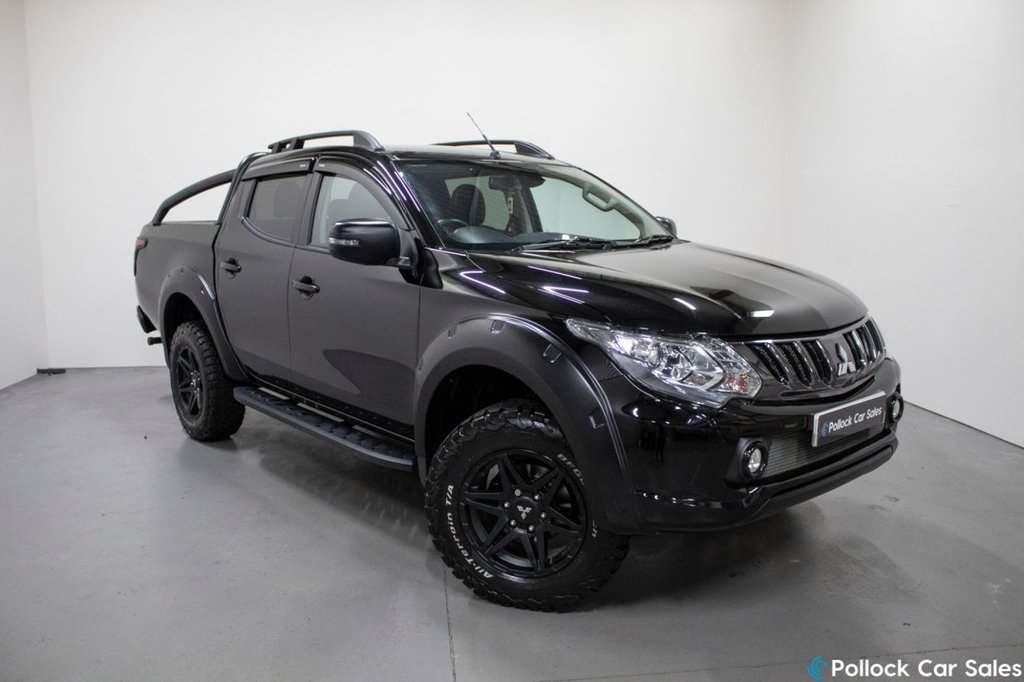USED 2018 68 MITSUBISHI L200 BARBARIAN AUTO 178BHP - UNIQUE SVP STYLING SVP Upgrades, Never Towed, 3.5T Towing