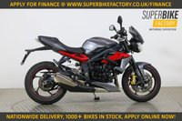 USED 2012 62 TRIUMPH STREET TRIPLE 675 R ALL TYPES OF CREDIT ACCEPTED. GOOD & BAD CREDIT ACCEPTED, OVER 1000+ BIKES IN STOCK