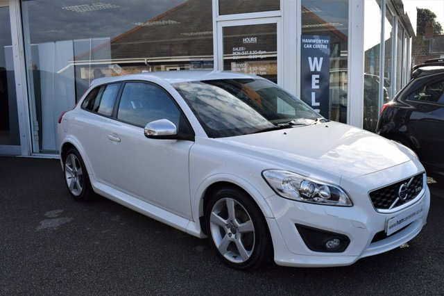 2013 13 VOLVO C30 1.6 D2 R-DESIGN 3d 113 BHP ONLY £30 YEAR ROAD TAX