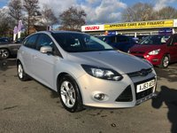 2014 FORD FOCUS 1.0 ZETEC 5d 99 BHP IN SILVER WITH A FULL SERVICE HISTORY. IN GREAT CONDITION AND IS ALSO ULEZ COMPLIANT. £4999.00