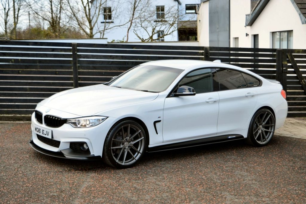 USED 2016 16 BMW 4 SERIES 2.0 420D M SPORT GRAN COUPE 4d 190 6 MONTHS RAC WARRANTY FREE + 12 MONTHS ROAD SIDE RECOVERY!