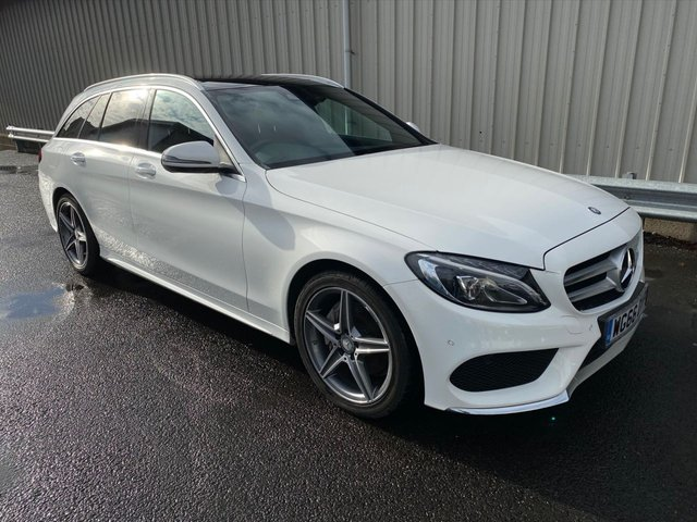 2016 66 MERCEDES-BENZ C-CLASS 2.1 C220 D AMG LINE PREMIUM 170 BHP ESTATE
