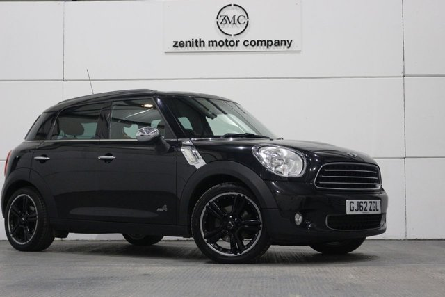 2012 62 MINI COUNTRYMAN 1.6 COOPER D ALL4 5d 112 BHP