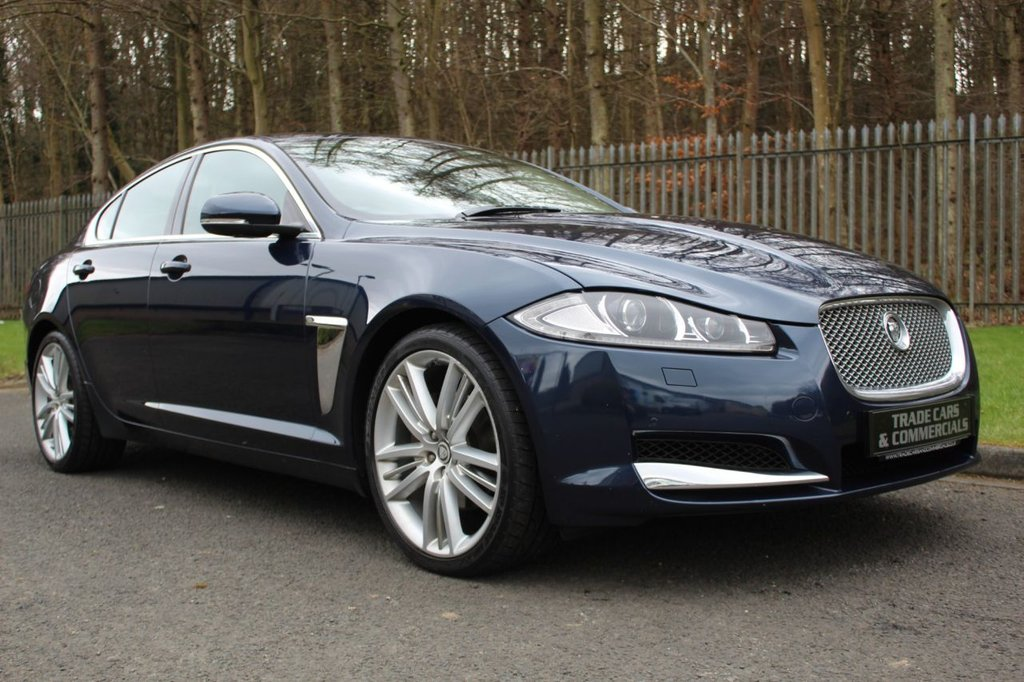 USED 2012 12 JAGUAR XF 3.0 V6 PREMIUM LUXURY 4d 240 BHP JAGUAR REGISTERED PLUS OWNER FROM NEW WITH GREAT SPEC AND SERVICE HISTORY!!!