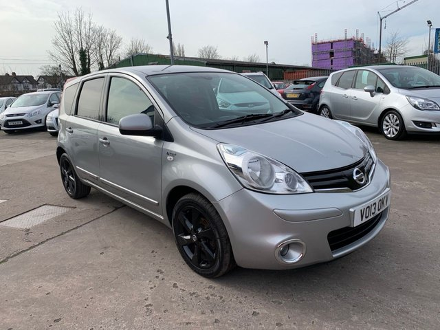 USED 2013 13 NISSAN NOTE 1.4 N-TEC PLUS 5d 88 BHP SERVICE HISTORY