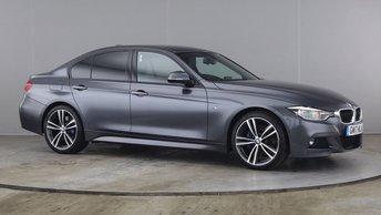 2017 BMW 3 SERIES 2.0 320D M SPORT 4d 188 BHP £18790.00
