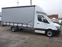 USED 2016 66 MERCEDES-BENZ SPRINTER 2.1 314CDI LWB 16 FT CURTAIN SIDE 140 BHP [EURO 6]