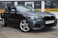 USED 2013 63 BMW 1 SERIES 2.0 118D M SPORT 3d 141 BHP NO DEPOSIT FINANCE AVAILABLE