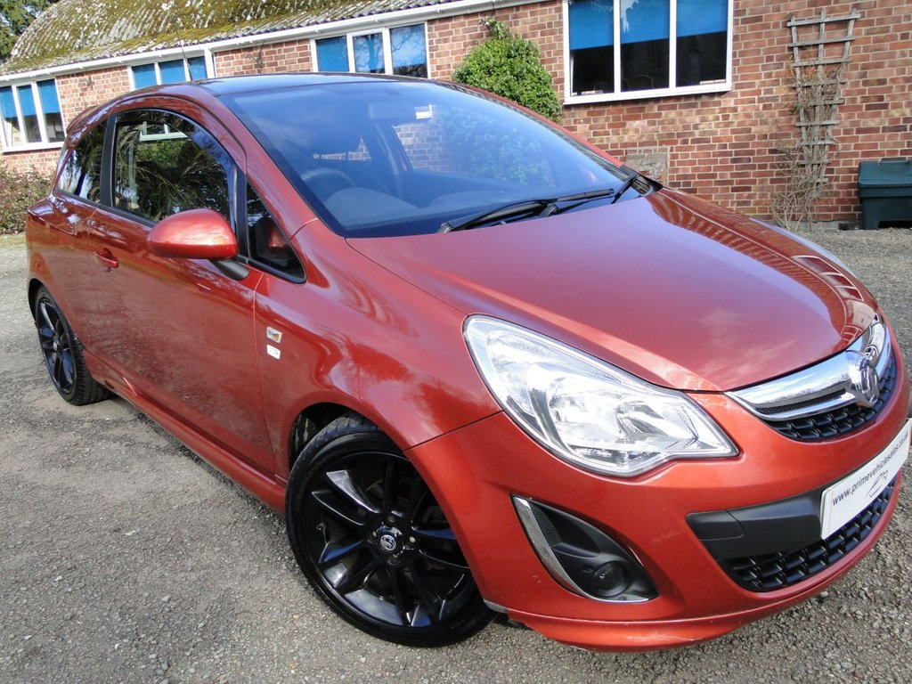 USED 2012 12 VAUXHALL CORSA 1.2 16v Limited Edition 3dr