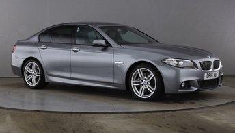 2016 BMW 5 SERIES 3.0 535D M SPORT 4d 309 BHP £18990.00