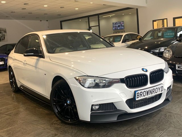 USED 2015 15 BMW 3 SERIES 3.0 330D M SPORT 4d 255 BHP BM PERFORMANCE STYLING+6.9%APR