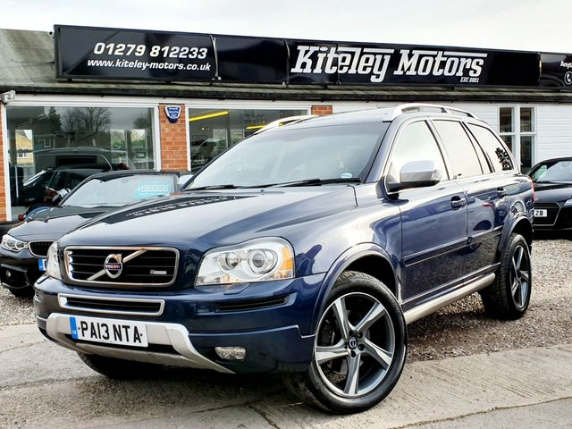 2014 14 VOLVO XC90 2.4 D5 R-DESIGN NAV AWD FAMILY PACK SUNROOF