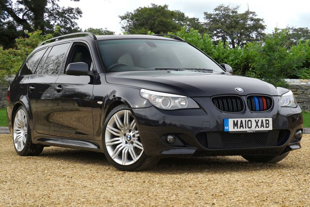 2010 10 BMW 5 SERIES 2.0 520D M SPORT BUSINESS EDITION TOURING 5d Diesel Automatic
