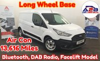 USED 2019 19 FORD TRANSIT CONNECT LWB  1.5 TDCI Euro 6 210 LONG WHEEL BASE Facelift Model in White with Only 13,616 Miles, Air Conditioning, Bluetooth, DAB Radio, 6 Speed Gearbox, Aux & USB, Fully Ply Lined and more ** Drive Away Today** Over The Phone Low Rate Finance Available, Just Call us on 01709 866668 **