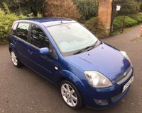 USED 2008 58 FORD FIESTA 1.2 ZETEC BLUE 5d 75 BHP