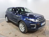 USED 2016 65 LAND ROVER RANGE ROVER EVOQUE 2.0 TD4 SE 5d 177 BHP Finished in a stunning Loire Blue + heated seats + Leather interior + Parking Sensors + Cruise Control + Climate control.