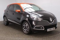 USED 2016 66 RENAULT CAPTUR 1.5 DYNAMIQUE S MEDIANAV ENERGY DCI S/S 5DR SAT NAV 90 BHP SERVICE HISTORY + FREE 12 MONTHS ROAD TAX + SATELLITE NAVIGATION + PARKING SENSOR + BLUETOOTH + CRUISE CONTROL + CLIMATE CONTROL + MULTI FUNCTION WHEEL + XENON HEADLIGHTS + DAB RADIO + ELECTRIC WINDOWS + ELECTRIC MIRRORS + 17 INCH ALLOY WHEELS
