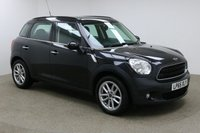 USED 2016 65 MINI COUNTRYMAN 1.6 COOPER D BUSINESS 5d 110 BHP Finished in a stunning black and great features such as Satellite Navigation, Bluetooth Connectivity, Half Leather interior, climate control