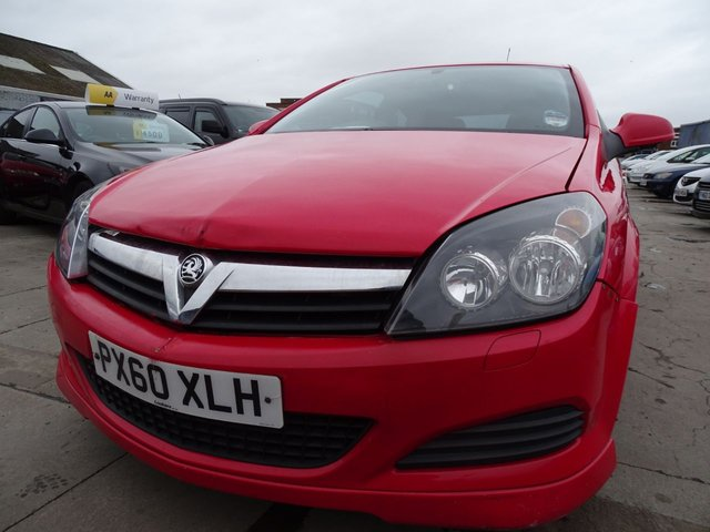 USED 2010 60 VAUXHALL ASTRA 1.4 SPORT 3d 88 BHP PX TO CLEAR