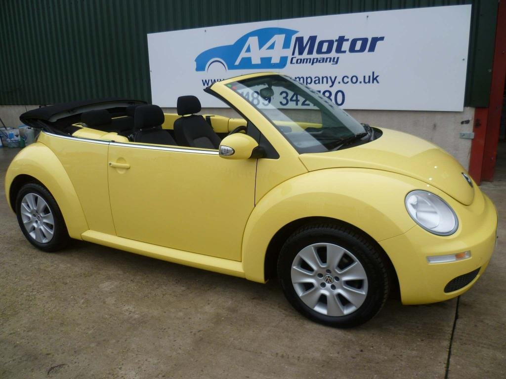 USED 2009 09 VOLKSWAGEN BEETLE 2.0 Cabriolet 2dr 100 + REVIEWS YOU CAN TRUST!!