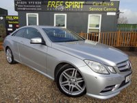 USED 2013 13 MERCEDES-BENZ E CLASS 2.1 E220 CDI BlueEFFICIENCY Sport G-Tronic 2dr 2 owners, Full service history