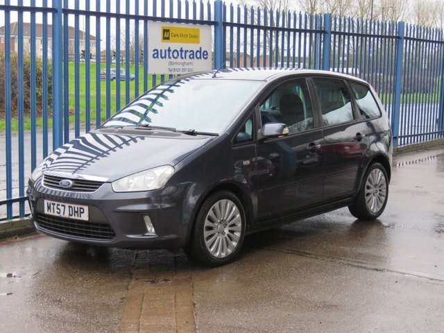 USED 2007 57 FORD C-MAX 1.8 TITANIUM TDCI 5dr Air con CD player Alloys Finance arranged Part exchange available Open 7 days