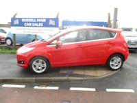 USED 2013 13 FORD FIESTA 1.2 ZETEC 5d 81 BHP 3 Stamps Of Service History. New MOT & Full Service Done on purchase + 3 Months Russell Ham Quality Warranty . All Car's Are HPI Clear . Finance Arranged - Credit Card's Accepted . for more cars www.russellham.co.uk  + Owner's Book Pack.