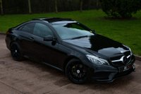 USED 2015 W MERCEDES-BENZ E CLASS 2.0 E200 AMG Line (Premium) 7G-Tronic Plus (s/s) 2dr PAN ROOF+CAMERA+NAV+HK SOUND